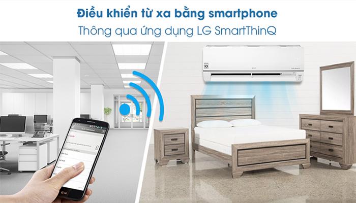 Điều hòa multi LG kết nối wifi