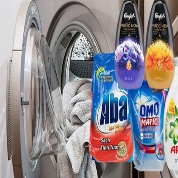 lựa chọn bột giặt , nước giặt phù hợp với máy điều hòa